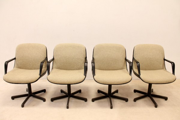 Stunning Set Of Comforto Office Chairs With