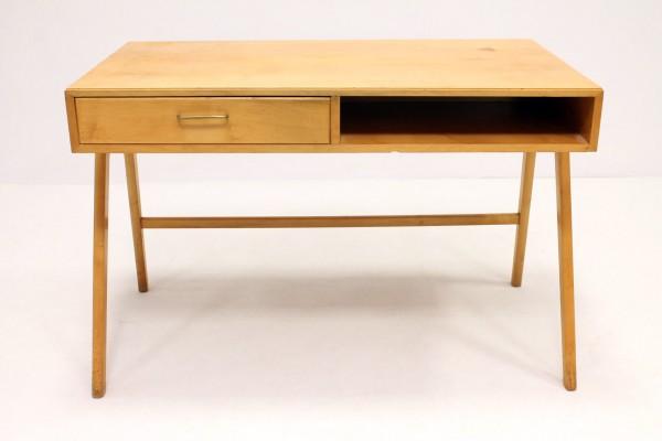 Swell Birch Desk By Coen De Vries For Everest Holland 1958 Download Free Architecture Designs Scobabritishbridgeorg